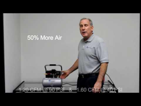 California Air Tools Light & Quiet 1P1060S Product Video