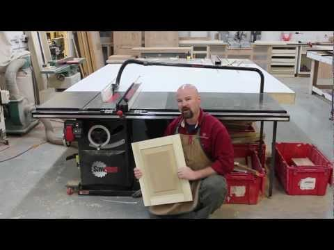 A Raised Panel, Made Solely On the SawStop Table Saw