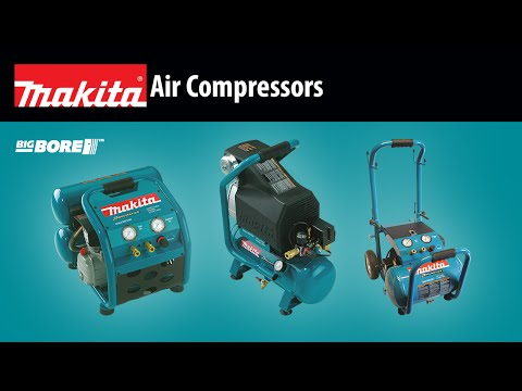 MAKITA Air Compressors (MAC5200, MAC700, MAC2400)