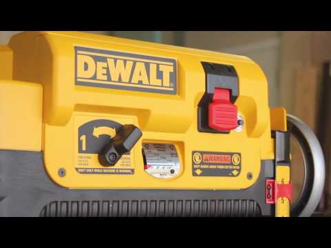DeWalt DW735X Planer Unboxing and Setup: A New Woodworker's Point of View