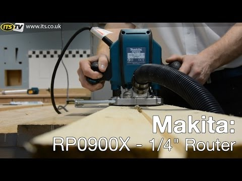 "Makita RP0900X 1/4"" Router - ITS TV"