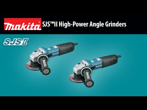 MAKITA SJS™II High-Power Angle Grinders (GA4542C, GA5042C)