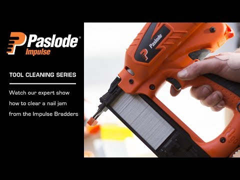 How to fix a Nail Jam in the Paslode Impulse Bradder