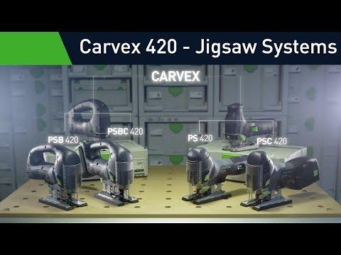 The new Festool Carvex 420 Jigsaw - the best jigsaw technology available