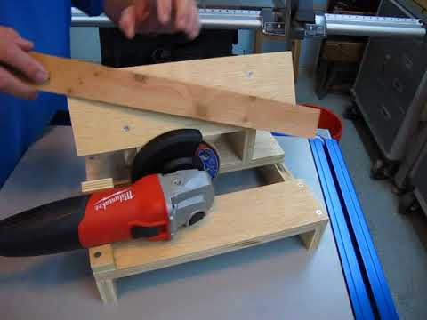 DIY Lawn Mower Blade Sharpening Bench 1-5
