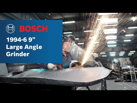 "Bosch Power Tools - 1994-6 9"" Large Angle Grinder"