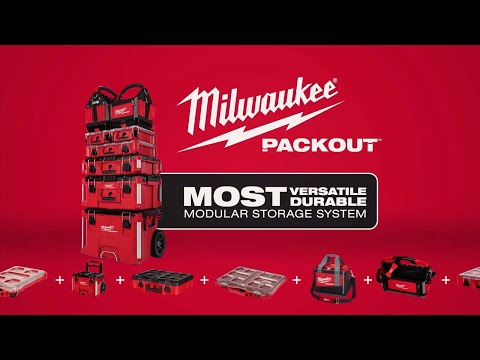 MILWAUKEE® PACKOUT™ Totes and Tool Bags