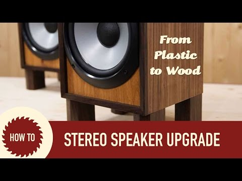 Rebuilding Sony Stereo Speaker Set | Upcycle Project
