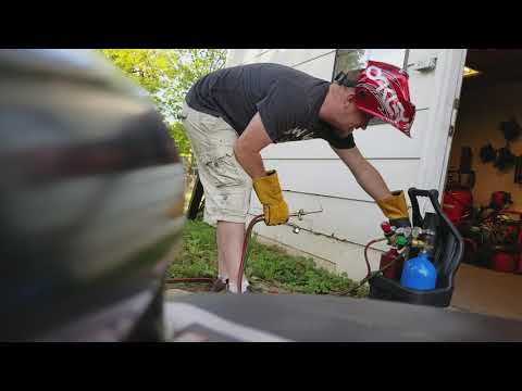Testing Victor J-style mini welding portable torch kit