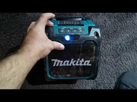 Makita XRM08B Cordless Bluetooth Speaker Review