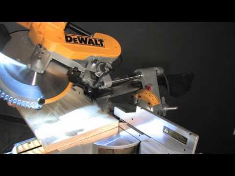 "Accuracy - DWS780 12"" Double Bevel Sliding Compound Miter Saw"