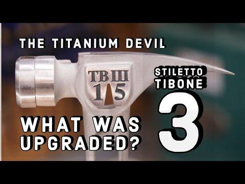 Stiletto TiBone 3 Titanium Hammer Review - What Was Upgraded?