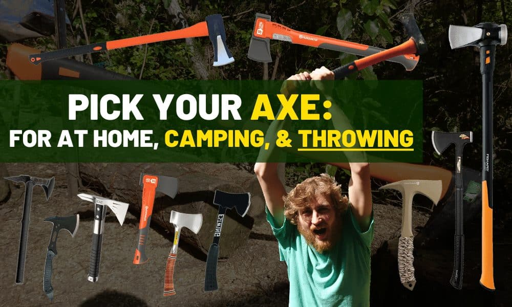 Best axe for throwing, splitting wood, and camping