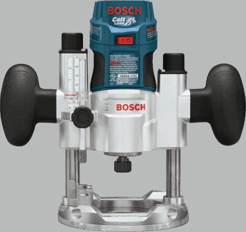 Bosch PR20EVSPK 5.6 Amp Plunge Base Router Combo Kit