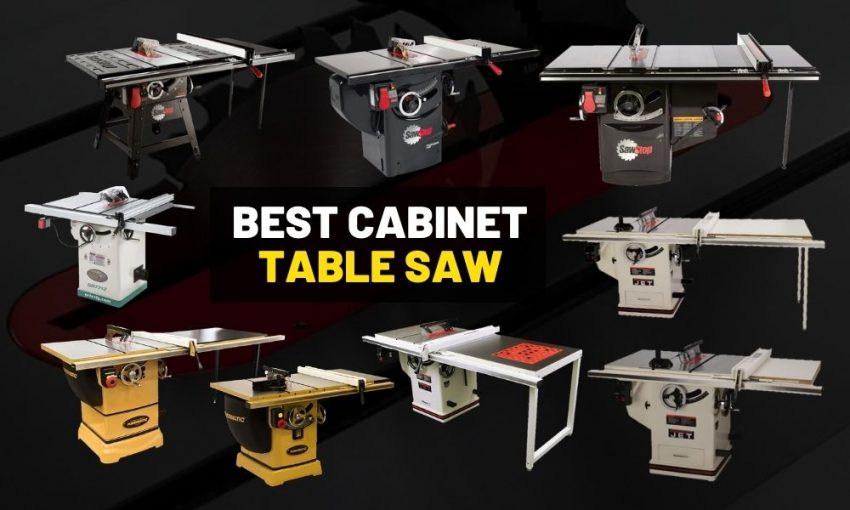 Best cabinet table saw for workshops