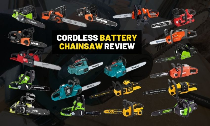 Best cordless chainsaw for professionals and new gardners