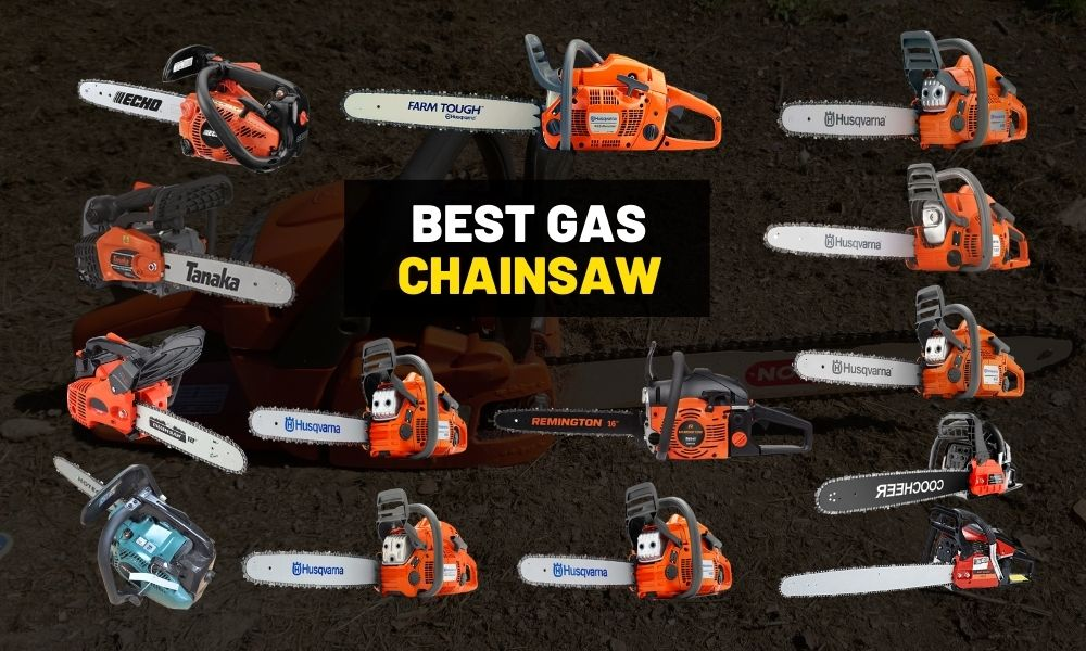 Best gas chainsaw [For trimming and cutting trees]