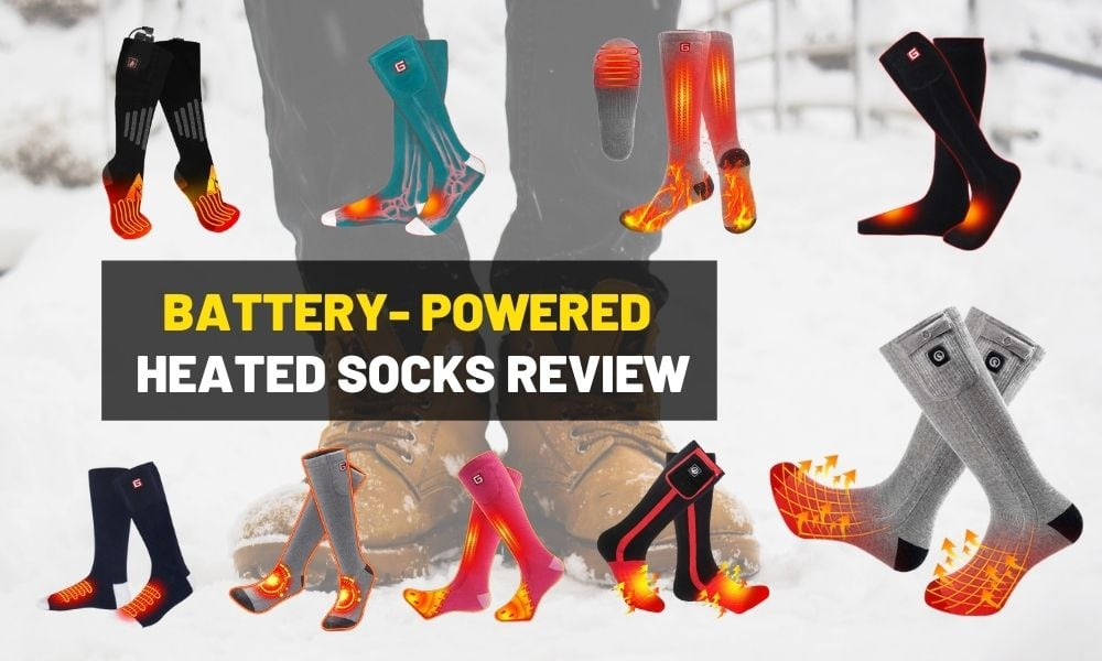Best heated socks | To keep your toes warm in winter