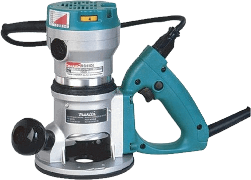 Makita RD1101 Variable Speed D Handle Router