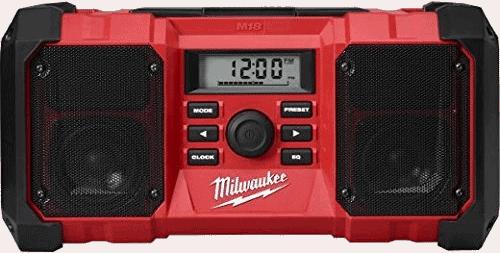 Milwaukee 2890 20 Jobsite Radio