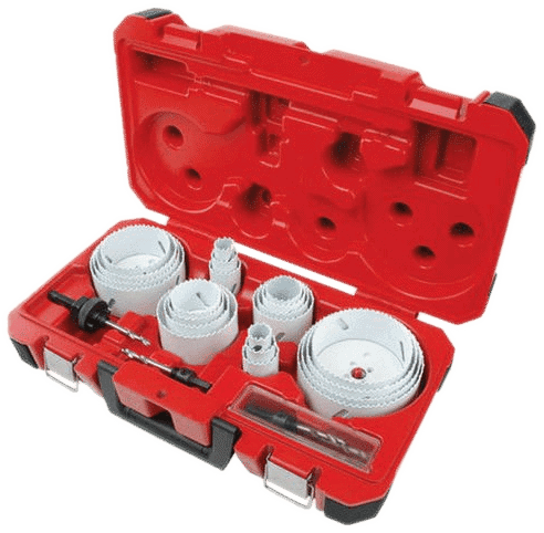 Milwaukee 28-Piece hole saw kit