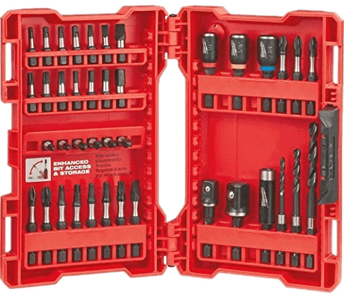 Milwaukee Shockwave Impact Drill and Drive Driver Bit Set (40 SET)
