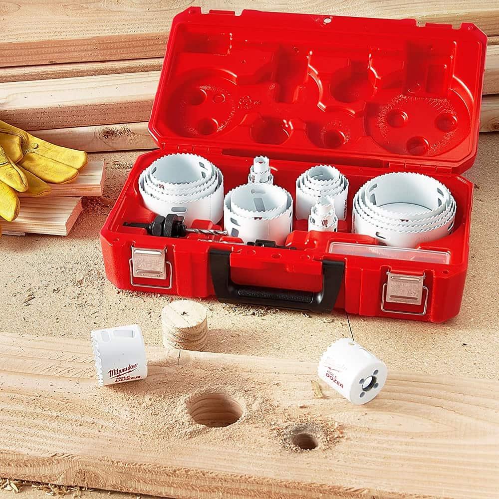 Milwaukee hole saw kit