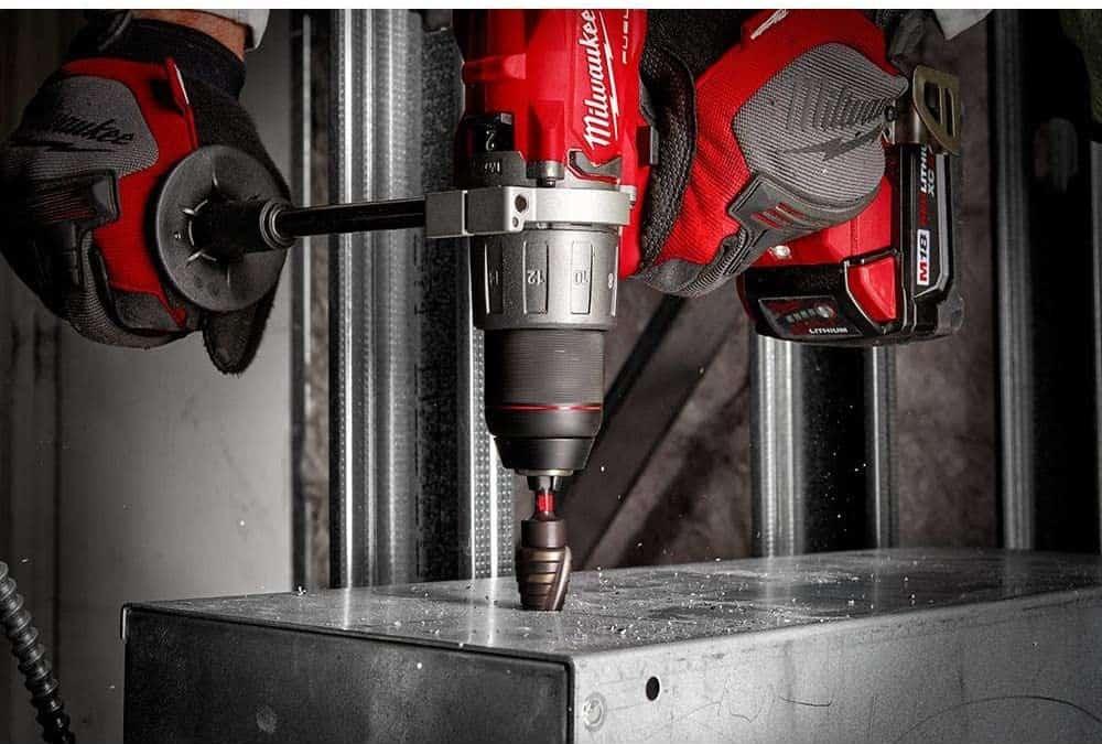 Milwaukee step drill bit