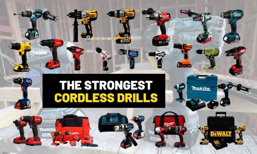 Strongest cordless drill set | Makita, Milwaukee or Dewalt?