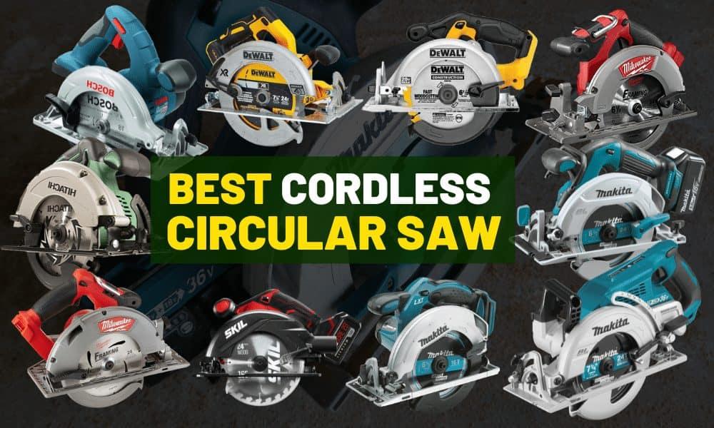 Best cordless circular saw [For builders & DIY'ers]
