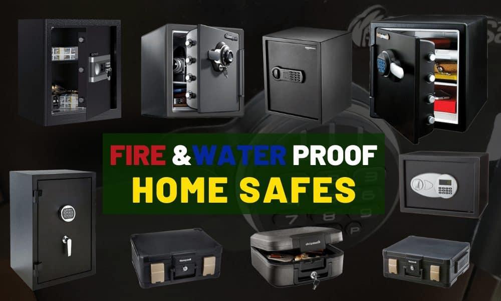 Best portable fireproof home safe & lock box