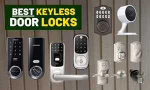 Best keyless door lock [Touch screen & dial pads]