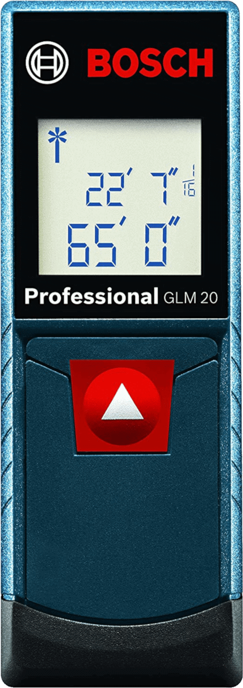 Bosch GLM 20 Laser Distance Measure, 65-Feet