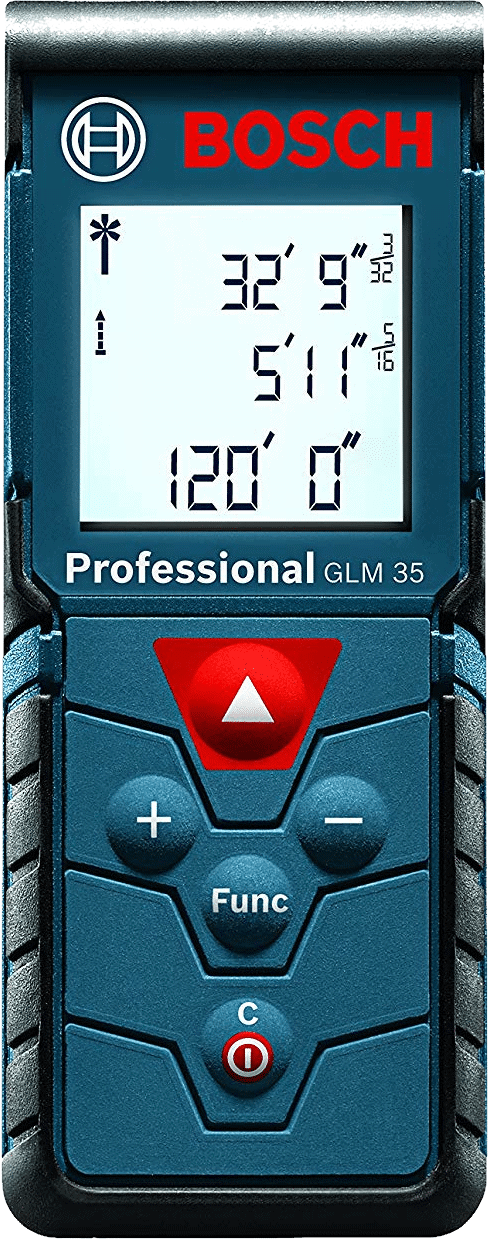 Bosch GLM 35 Laser Distance Measure, 120-Feet