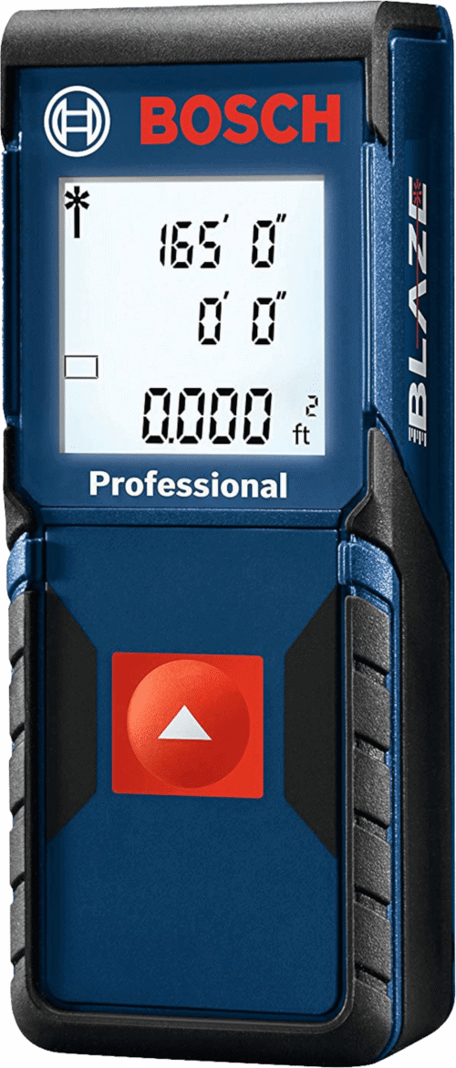 Bosch GLM165-10 Laser Distance Measure, 165-Feet