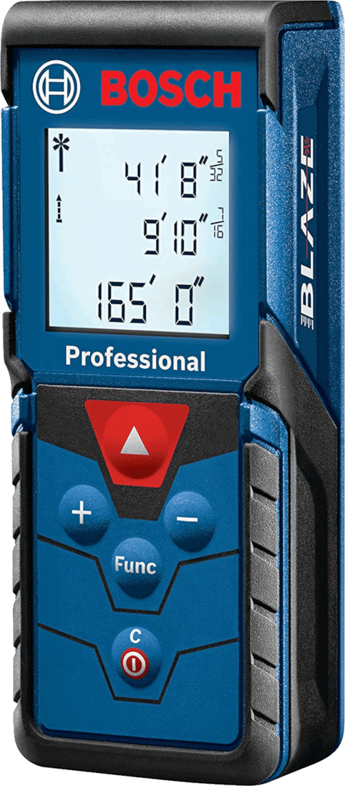 Bosch GLM165-40 Laser Distance Measure, 165-Feet