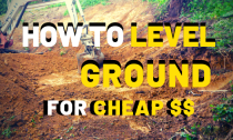 How To Level Ground Perfectly