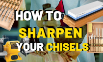How To Sharpen Chisels [And Tool Blades]