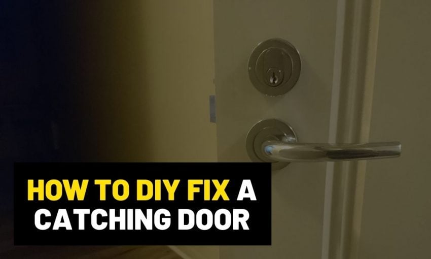 How to plane a door | And stop it from jamming