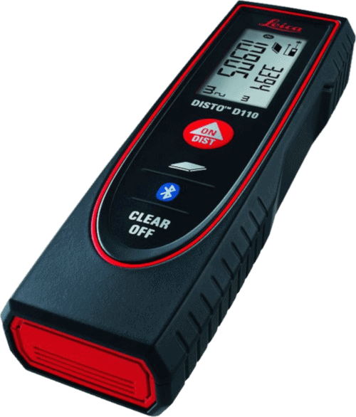 Leica DISTO D110 (E7100i) 200ft Laser Distance Measure with Bluetooth