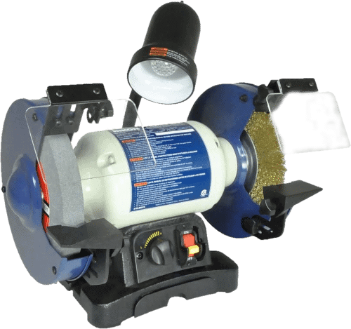 RIKON 8 inch Variable Speed Bench Grinder