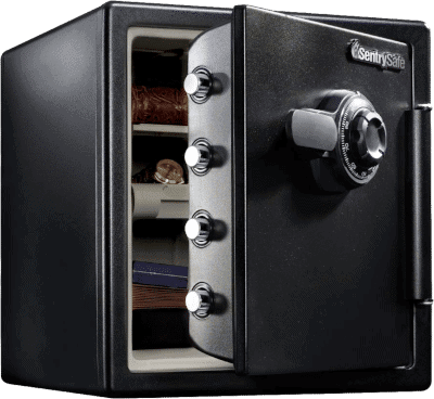SentrySafe SFW123CU Fireproof Safe and Waterproof Safe