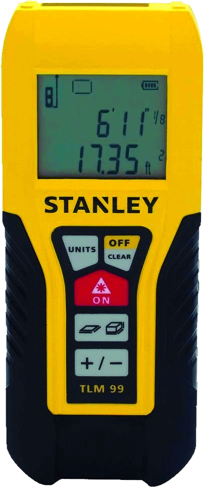 Stanley STHT77138X Laser Distance Measurer 100-Feet