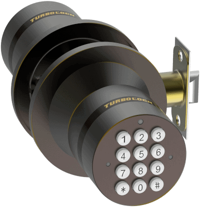 TurboLock Keyless Entry Door Lock