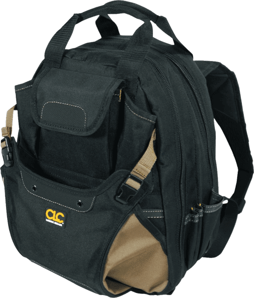 CLC 1134 Carpenter's Tool Backpack 44 Pockets