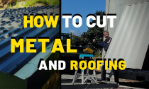 How To Cut Corrugated Metal Roofing