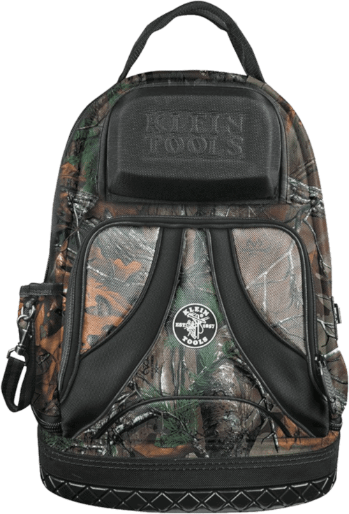 Klein Tools 55421BP14CAMO Tool Backpack Camo 39 Pockets