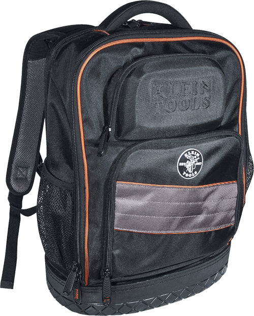 Klein Tools 55439BPTB Tool Backpack 25 Pockets, Laptop Compartment