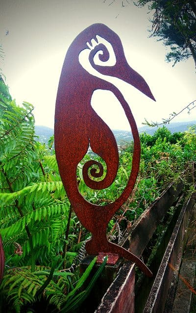 Metal Bird Art Work