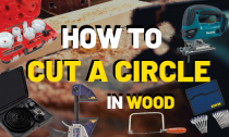 How to Cut A Circle In Wood, Plastic And Metal